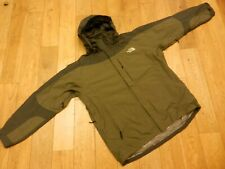 THE NORTH FACE HYVENT WATERPROOF MOUNTAIN PARKA JACKET COLOUR:GREEN/GREY SIZE:XL