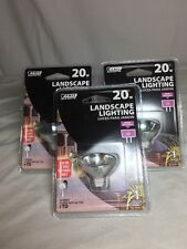 lot of 3 landscaping light bulbs 20w feit electric