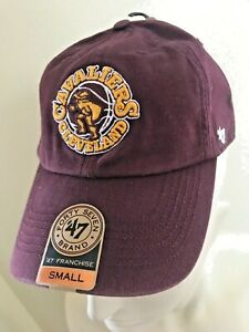CLEVELAND CAVALIERS '47 Brand NBA Cap Hat Vintage NEW With Tags Maroon