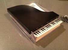 Grand Piano Acrylic Holder with Keyboard Note Paper Vintage TAKE NOTE