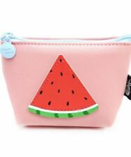 Women's Coins Purses & Pouches Watermelon Design Wallet (peach/red)