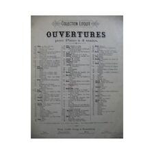 MÉHUL E. N. La Chasse du Jeune Henri Piano 4 mains XIXe partition sheet music sc
