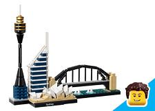 LEGO Architecture 21032  ★  Sydney (Skyline)  ★  Neue Steine, ohne Anleitung/OVP