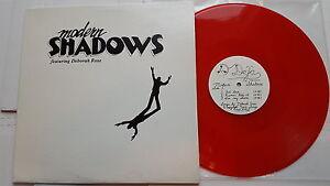 MODERN SHADOWS w/ Deborah Rose RARE PRIVATE 1985 AOR New Wave RED VINYL (EP)