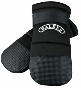 Trixie Anti-Slip Heal Wound Care Soft-Soled Protective Puppy Pawz Black Boots