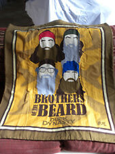 HANDMADE TODDLER SIZE QUILT BLANKET  WALL HANGING  DUCK DYNASTY BROTHERS BEARD