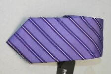BOSS Hugo Boss Men's Dark Purple Striped Tie MSRP $95