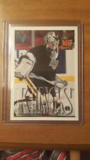 1995-96 Topps NHL Rookie Jamie Storr Los Angeles Kings Card #363