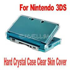 Crystal Clear Hard Skin Case Cover Protection for Nintendo 3DS N3DS Console New