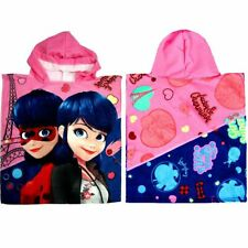 Lady Bug Polyester Hooded Poncho Towel