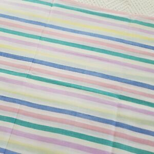 Vintage Retro Large Candystripe Pillowcase 40s 50s 60s 70s VW Camper Camping
