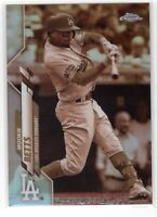 2020 Topps Chrome Mookie Betts SP Sepia Refractor #100 Los Angeles Dodgers