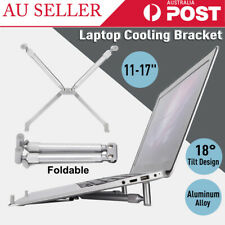 """Ergonomic Laptop Stand Portable Notebook Riser Stand for11-17"""" Laptop Macbook AU"""