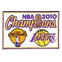 2010 NBA Basketball Finals Championship Los Angeles Lakers Jersey Patch Bryant