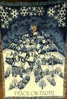 "Vintage Christmas Winter Snow Tapestry Blanket Santa Fringed Throw 48"" x 68"""