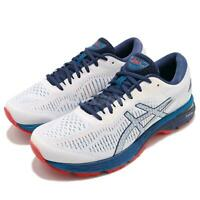 Asics Gel-Kayano 25 Running shoes White/Blue/Red [1011A019-100] Men's 9 D Sample