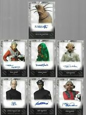 New Listing2020 Topps Star Wars Rise Of Skywalker Series 2 Auto Lot (7) All Di 00004000 fferent