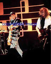 Cheap Trick Rick Nielsen + Zander 2/1/81 Granada Theatre Chicago Color 8x10 B