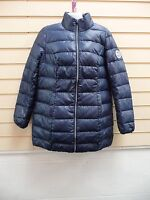 LADIES JACKET / COAT DARK BLUE SIZE 10 QUILTED CASUAL BNWOT
