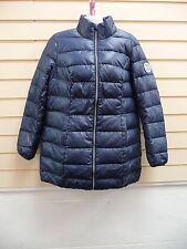 BONPRIX  JACKET / COAT DARK BLUE SIZE 10 QUILTED WINTER CASUAL BNWOT