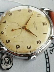 Vintage universal geneve cal 262 manual wind mens watch. No reserve
