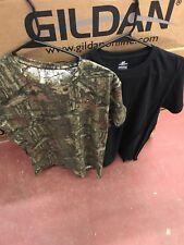 ae553346fef831 Mossy Oak Men s 2 Pack Camo Crew Neck T-Shirts