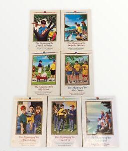 Set of 7 Three Cousins Detective Club series books