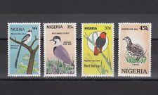TIMBRE STAMP  4 NIGERIA Y&T#454-57 OISEAU BIRD NEUF**/MNH-MINT 1984 ~C09