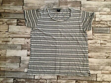 Topshop Short Sleeve Striped T-Shirts for Women