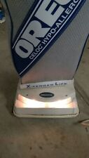 Oreck XL XL2 Type 7 Celoc Hypo Allergenic Plus Upright Vacuum Cleaner White