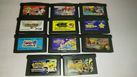 Nintendo GameBoy Advance Various Games LOT x11 Naruto Beyblade *Used*
