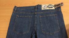 Cheap Monday Hombre Apretado Azul Lavado De Jeans Slim Fit Cintura 36 L 34 BNWT