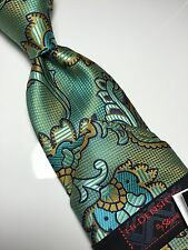 NWT Paisley Neck Tie & Hanky  Steven Land – NEW Collection Hi-DENSITY