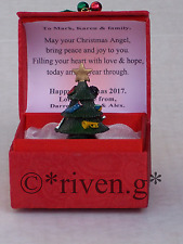 PERSONALISED BEST FRIENDS CHRISTMAS CARD Star Box@HOLLY BELLS NEW HOME Poem Gift