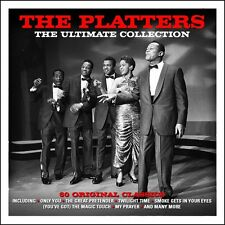 The Platters ULTIMATE COLLECTION Best Of 60 Classic Songs ESSENTIAL New 3 CD