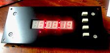 Draper Panel Mount Digital Clock Timer Nos Old School Works Fine