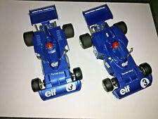 2 Polistil Evolution slot cars many metres track many Accessories