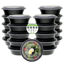 Freshware Meal Prep Containers 21 Pack Bowls with Lids Food Storage Bento Box