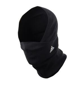 adidas TIRO BST Fleece Neck Warmer Running Black FACE Mask Scarf FR2243