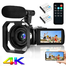 4K Wifi Camcorder Video Vlogging Camera Digital Zoom Camcorder IR Night Vision