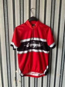 Campagnolo Cycling Jersey size L red short sleeve
