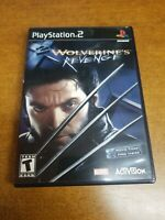 X2 Wolverine's Revenge (Sony, Playstation 2)(Complete)(CIB)(Tested)