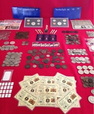 ☆ 50 Coins From Estate Collection ☆ Roman, World, Old Early US 1800s GOLD SILVER