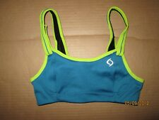Womens MOVING COMFORT FIONA athletic sports bra sz 30B 30 B