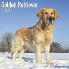 Golden Retriever Calendar 2021 Premium Dog Breed Calendars