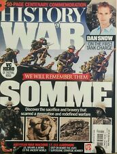 History of War Issue 30 Somme We Will Remember Them Dan Snow FREE SHIPPING sb