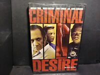 Criminal Desire (DVD, 2006) David Faustino Brand New B323