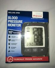 Walgreens 934797 Deluxe Arm Blood Pressure Monitor A1