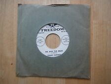 Johnny Burnette Me and the Bear A Eddie Cochran session NEAR MINT promotional 45