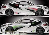 Audi TT rally 005 racing graphics stickers decals vinyl